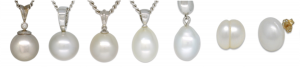 Different Pearl Shapes used for Pearl Grading