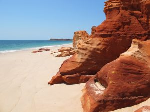 Red rocks of Cape Leveque
