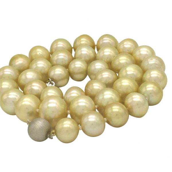 Gold Pearl Strand coiled up