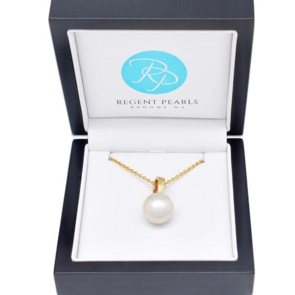 Australian South Sea Pearl Pendant in display box