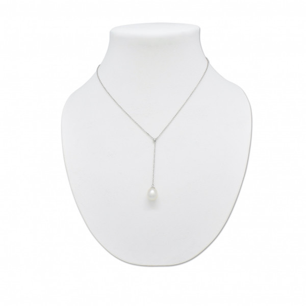 Australian Pearl Silver Necklace