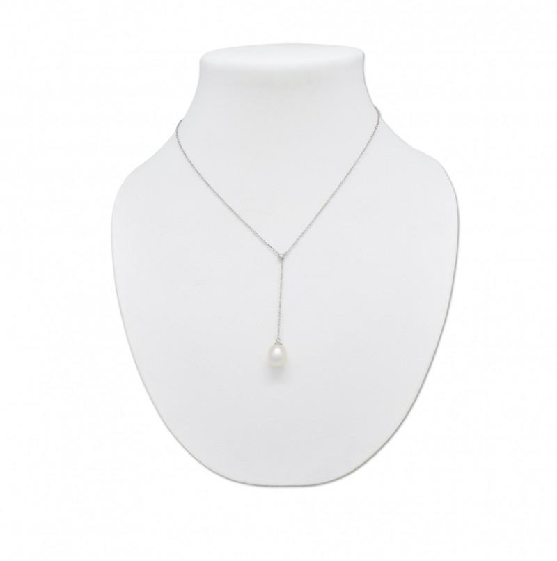 Australian Pearl Silver Necklace