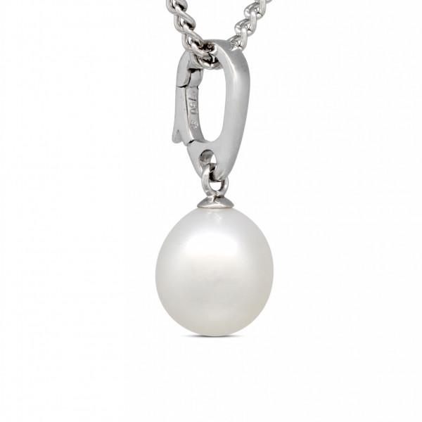 18ct Gold Pearl Pendant
