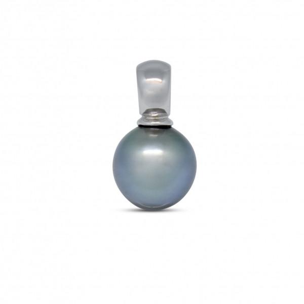 Tahitian Silver Pearl Pendant