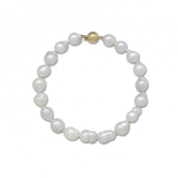Graduated Baroque Pearl Bracelet